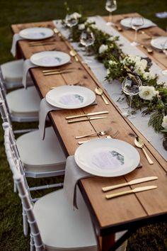 Chic Wedding, Dream Wedding, Wedding Day, Trendy Wedding, Table Wedding, Garden Wedding, Wedding White, Wedding Simple, Wedding Flowers