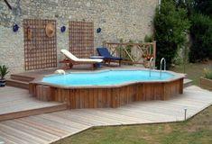 piscine-hors-sol-semi-encastrée-bois