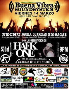 """Viernes 14/03: """"Buena Vibra SoundSystem"""" en FERIMAR >> fb.me/1mdR6UwGo"""