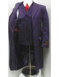 New Men's Purple Three Piece Super 150s Zoot Dress Suit - Very High Quality Joker Suit (from Batman: the Dark Knight)    Are you ready to party?...