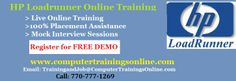 ComputerTrainingsOnline is aimed to provide quality loadrunner training with loadrunner working professionals as our core faculty team. We are the leading online IT training provider with franchises in across the globe