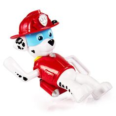 Paw Patrol to the ruff-ruff-rescue! Now kids can enjoy classic bath play with all of their favourite Paw Patrol Pups! Just wind up your pup and go on a bath time adventure. Collect all 6 pups and get ready to save Adventure Bay. Together, your child's imagination will be lit up with pup inspired rescue missions full of friendship, teamwork and bravery. No bath is too big, no pup is too small. Bring home the Paw Patrol Bath Paddling Pups and collect them all!