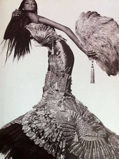 Haute Couture Photography | ... TRAVAIL EN COURS, JEAN-PAUL GAULTIER, Haute Couture 1999……..No.1