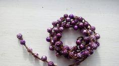 Rosie Posie Versatile crocheted necklace / bracelet by FleasKnees, $15.00