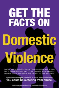 Domestic Violence Posters | Domestic Violence Brochure & Poster