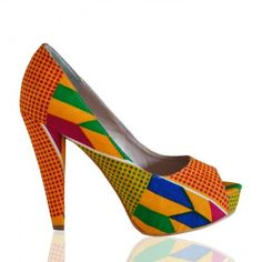 Where can I get a pair of these? #kente #shoes