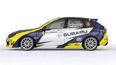 Herman Neubauer (Subaru Impreza WRX Sti R4) - design and wrap.