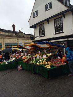 Market place, St Albans, Herts, England St Albans, Past, England, Memories, Stalls, City, Places, Nostalgia, Travel