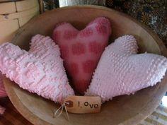 Chenille Hearts