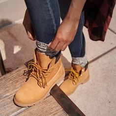 943706db531d 26 Best How to Wear Timberlands images