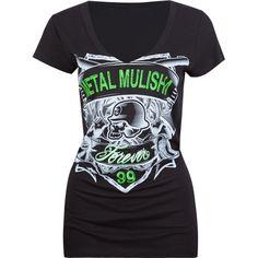 METAL MULISHA Gunslinger Womens Tee