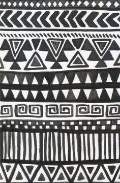 Black and white azte