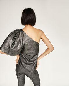 Image 4 of ASYMMETRIC TOP from Zara