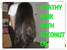 How to get healthy and silky hair with coconut oil - treatment & real results! - Makeup & Beauty