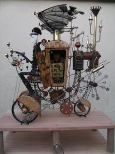 Steam punk art