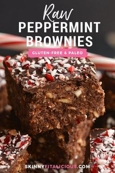 Healthy Vegan Paleo Peppermint Brownies made dairy free and lighter. Healthy Vegan Paleo Peppermint Brownies made dairy free and lighter. Quick Healthy Desserts, Paleo Recipes Easy, Great Desserts, Fall Desserts, Dessert Ideas, Free Recipes, Strawberry Oatmeal Bars, Blueberry Crumble Bars, Sugar Free Bacon