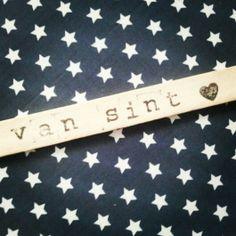 Label voor Sinterklaas cadeau