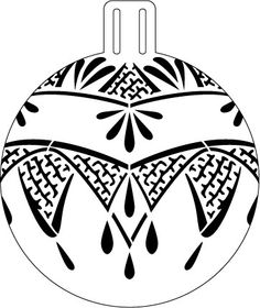"""Art Deco Lace Ornament Stencil - 5"""" Christmas Tree Decorations To Make, Diy Christmas Ornaments, Christmas Balls, Christmas Colors, Christmas Projects, Holiday Crafts, Lace Painting, Dot Painting, Stone Painting"""