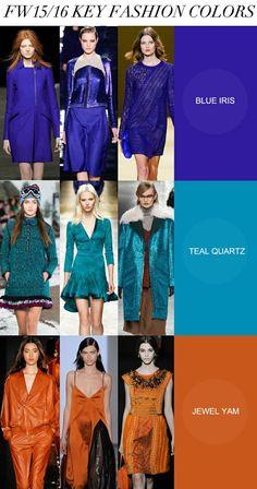 Pallet 3 Key colors Fall-Winter 2015-2016 women fashion trend Apparel fuxia----- Tavolozza 3 colori principali donna tendenze stagione Autunno-Inverno 2015-2016 Abbigliamento fuxia