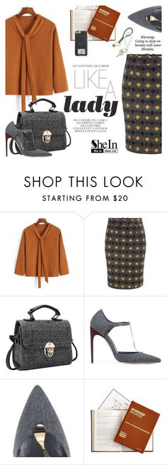 """""""Ready for Monday  ):"""" by ansev ❤ liked on Polyvore featuring Brian Atwood, iEva and shein"""