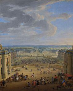 6 mai 1682 Versailles devient résidence de la Cour et du gouvernement  #VersaillesCollection http://bit.ly/1ACsbFq