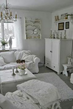 charming all shades of white 30 beautiful living room designs digsdigs | All Shades Of White: 30 Beautiful Living Room Designs ...