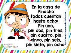 Canciones y retahilas para sortear juegos (12) Preschool Poems, Preschool Activities, Spanish Classroom, Teaching Spanish, Spanish Lessons For Kids, Flashcards For Kids, Spanish Songs, Bilingual Education, Classroom Language