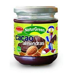 Crema Ecológica de Cacao y Almendras Naturgreen