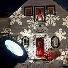 bcefd977aa00 snowflake projection lights Led Projektor, White Christmas, Outdoor  Christmas, Christmas Gifts, Winter