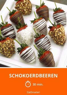 Schokoerdbeeren - smarter - Zeit: 30 Min. | eatsmarter.de