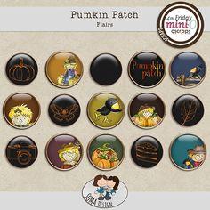 SoMa Design: Pumpkin Patch - Flairs