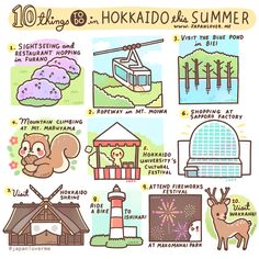 10 things to do in Hokkaido this summer