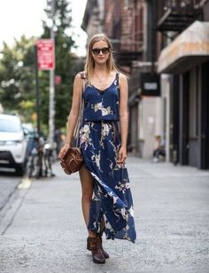 Maxi and floral. Luv.