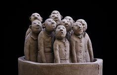 Sculpture de Sophie Favre by Martin Le Roy,