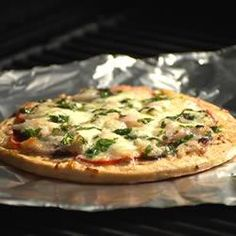 California Grilled Pizza - Allrecipes.com.......Looks amazing!!!!!  Definitely want to try this! Whether on the grill or not, love the topping suggestions too!