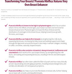 http://www.femalerespect.com/brestrogen-review/ So What Is It That Makes Brestrogen So Effective For  Transforming Your Breasts? Pueraria Mirifica: Natures Very  Own Breast Enhancer