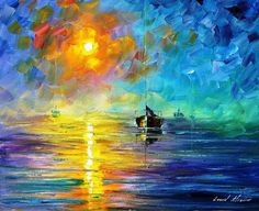 www.etsy.com/shop/AfremovArtStudio #art #artwork #painting #landscapes #popular: