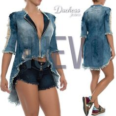 Denim Fashion, Boho Fashion, Fashion Outfits, Push Up Jeans, Mode Jeans, Denim Ideas, Recycled Denim, Denim Coat, Young Fashion