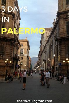 3 days in Palermo is a good amount to enjoy this beautiful Sicilian city. You will find lots of beautiful buildings, excellent food and terrific beaches. Sicily Travel, Italy Travel Tips, Backpacking Europe, Travelling Europe, Traveling, Travel Europe, European Tour, European Travel, Cinque Terre
