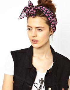 ASOS Watermelon Print Headscarf