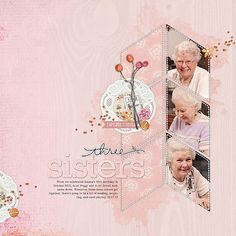 #papercraft #scrapbook #layout.  gorgeous #scrapbook page with simple but effectove layers by Linda at DesignerDigitals.com #shopDesignerDigitals