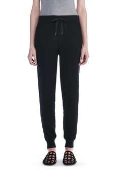 T by ALEXANDER WANG new-arrivals-t-by-alexander-wang-woman SOFT FRENCH TERRY SWEATPANT