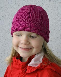 Luoto pattern by Pia Tuononen Kids Hats, Knitted Hats, Beanie, Knitting, Children, Crochet, Hat Patterns, Easy, Fashion