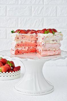 Pavlova, Polish Recipes, No Bake Cake, Kids And Parenting, Cake Recipes, English Verbs, Cupcakes, Favorite Recipes, Cooking