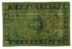 Carpet Reloaded - decolourised rugs