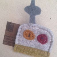 Felt badge: Pop along to my Folksy shop and use the code JONESYINC3 to get 50% off everything