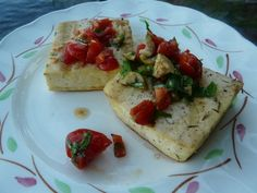 Weekday Vegetarian: Grilled Oregano Tofu with Tomato Salsa