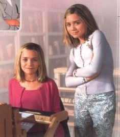 Young Mary Kate and Ashley...