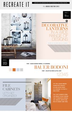 Veda House, graphic design + home interior