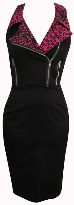 Sleeveless Moto Dress By Switchblade Stiletto.. Oh my gosh!! I'm love with this!!